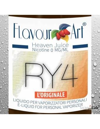FLAVOURART Tabacco RY4 liquido pronto 10ml