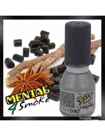Mental LIQUORICE 10ml liquido pronto