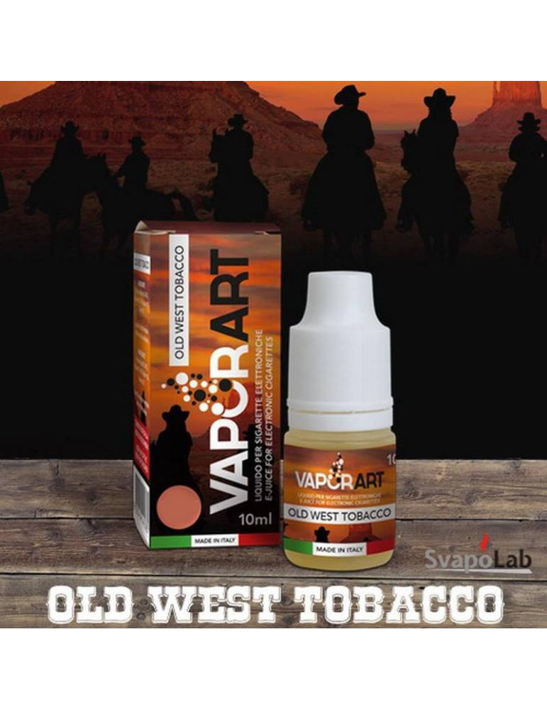 Vaporart OLD WEST TOBACCO liquido pronto 10ml