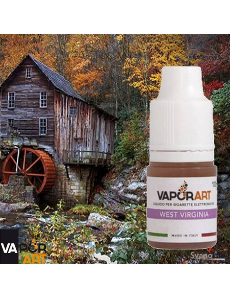Vaporart WEST VIRGINIA 10ml liquido pronto