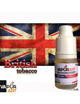 Vaporart BRITISH TOBACCO liquido pronto 10ml