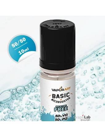Vaporart BASIC Nicobooster 10ml-50/50 (basetta neutra con e senza nicotina)