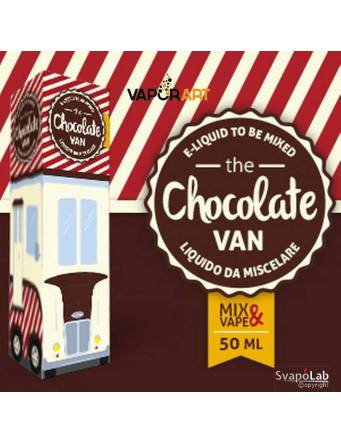 Vaporart THE CHOCOLATE VAN Mix&Vape 50ml e-liquid da miscelare