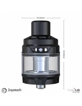 Joyetech CUBIS MAX atomizer 5 ml (ø28mm), le dimensioni