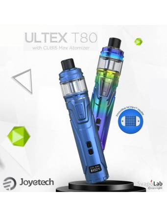 JOYETECH ULTEX T80 kit con CUBIS Max (ø28mm)