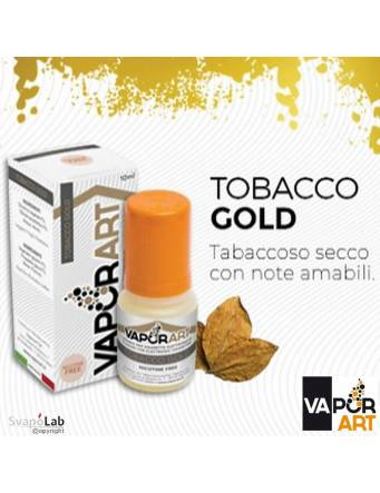 Vaporart TOBACCO GOLD 10ml liquido pronto