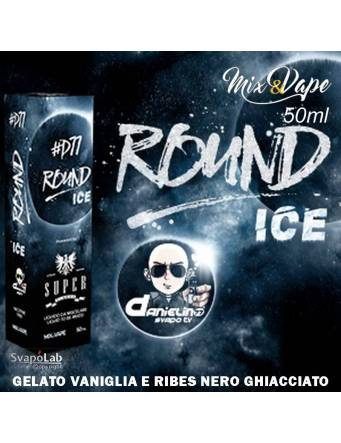Super Flavor ROUND ICE by D77 Mix&Vape 50ml e-liquid da miscelare