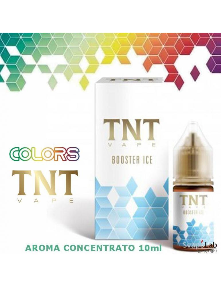 TNT Vape Colors BOOSTER ICE 10ml aroma concentrato