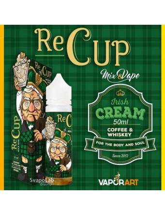 Vaporart RE-CUP Mix&Vape 50ml e-liquid da miscelare