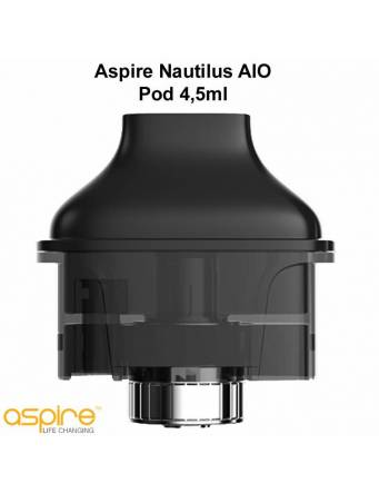 Aspire Nautilus Aio POD 4,5ml con BVC coil 1,8ohm (1 pz) cartuccia di ricambio