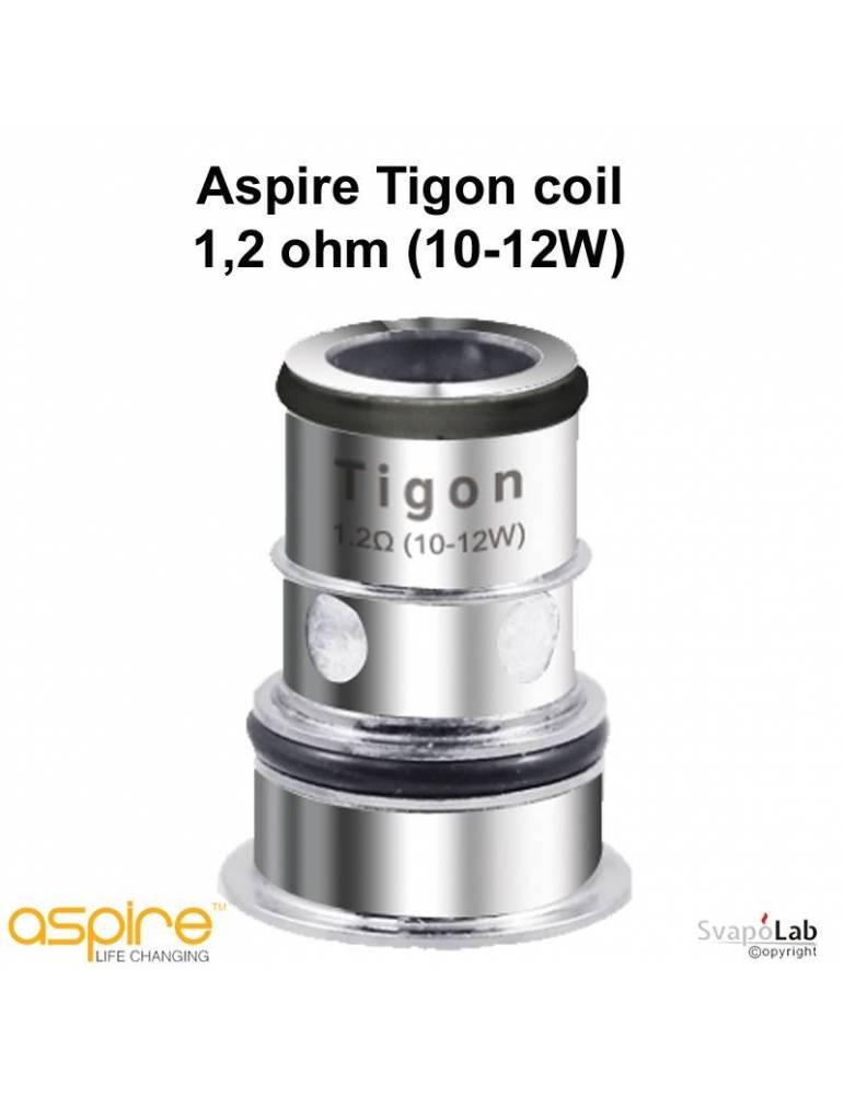 Aspire TIGON coil MTL 1,2ohm/10-12W (1 pz)