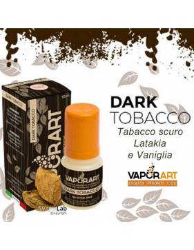 Vaporart DARK TOBACCO 10ml liquido pronto