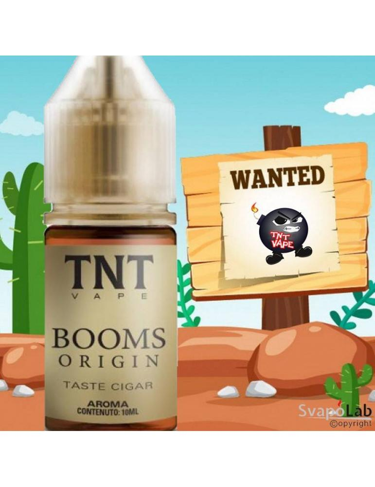 TNT Vape BOOMS ORIGIN 10ml aroma concentrato