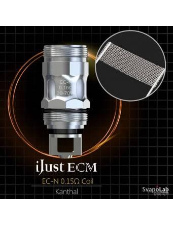 Eleaf iJUST ECM atomizer 4 ml (ø25mm), la resistenza EC-N