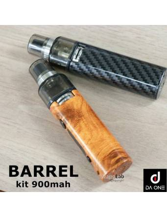 Da One BARREL VV kit 900mah + OMAGGIO (1 FIRST PICK REBRAND 10ml/8nic. liquido pronto Suprem-e)