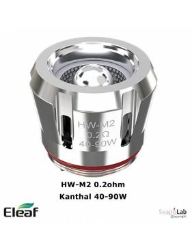 Eleaf HW-M2 Kanthal coil 0.20ohm/40-90W (1 pz) per Ijust 21700/new ELLO DURO