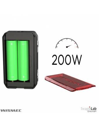 Wismec SINUOUS V200 box mod, potenza batterie