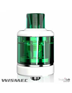 Wismec AMOR NSE tank 3ml (ø26mm), verde