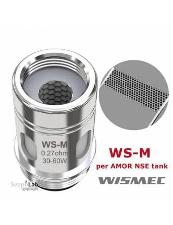 Wismec WS-M DTL coil 0,27 ohm/30-60W (1 pz) per AMOR NSE tank