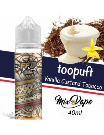 FFJ TOO PUFT VANILLA CUSTARD TOBACCO 40ml Mix&Vape e-liquid by Food Fighter Juice
