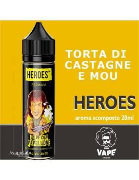 Pro Vape Heroes SILVESTER VAPELLONE 20 ml aroma scomposto + OMAGGIO 1 VG 30ml
