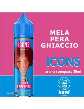 Pro Vape Icons JIMMY VAPENDRIX 20 ml aroma scomposto + OMAGGIO 1 VG 30ml