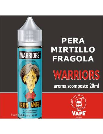 Pro Vape Warriors IRON ANGEL 20 ml aroma scomposto + OMAGGIO Full Vg 30ml Domina