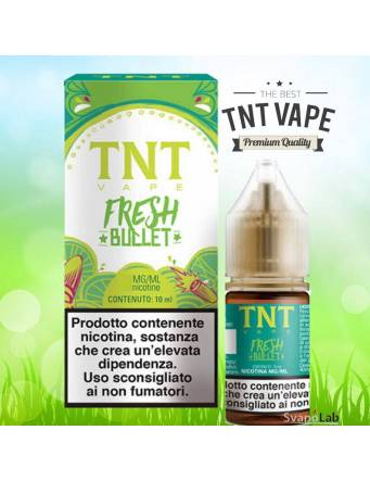 TNT Vape FRESH BULLET 10ml liquido pronto