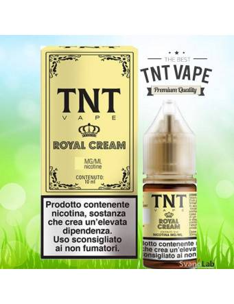 TNT Vape ROYAL CREAM 10ml liquido pronto