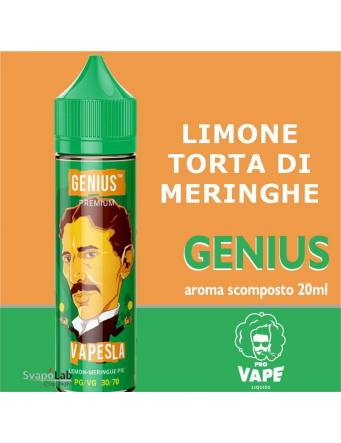 Pro Vape Genius VAPESLA 20ml aroma scomposto + OMAGGIO Full Vg 30ml Domina