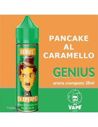Pro Vape Genius CHAPVAPES 20ml aroma scomposto + OMAGGIO Full Vg 30ml Domina