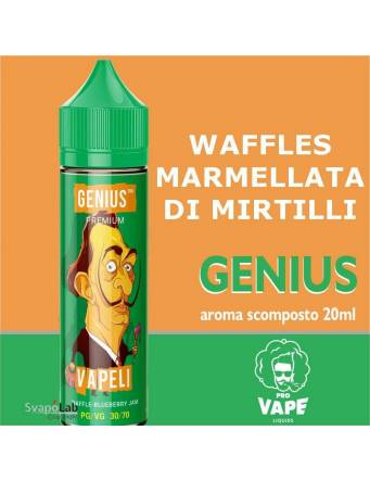 Pro Vape Genius VAPELI 20ml aroma scomposto  + OMAGGIO Full Vg 30ml Domina