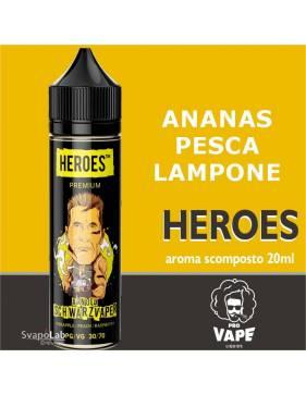 Pro Vape Heroes ARNOLD SCHWARZVAPER 20 ml aroma scomposto