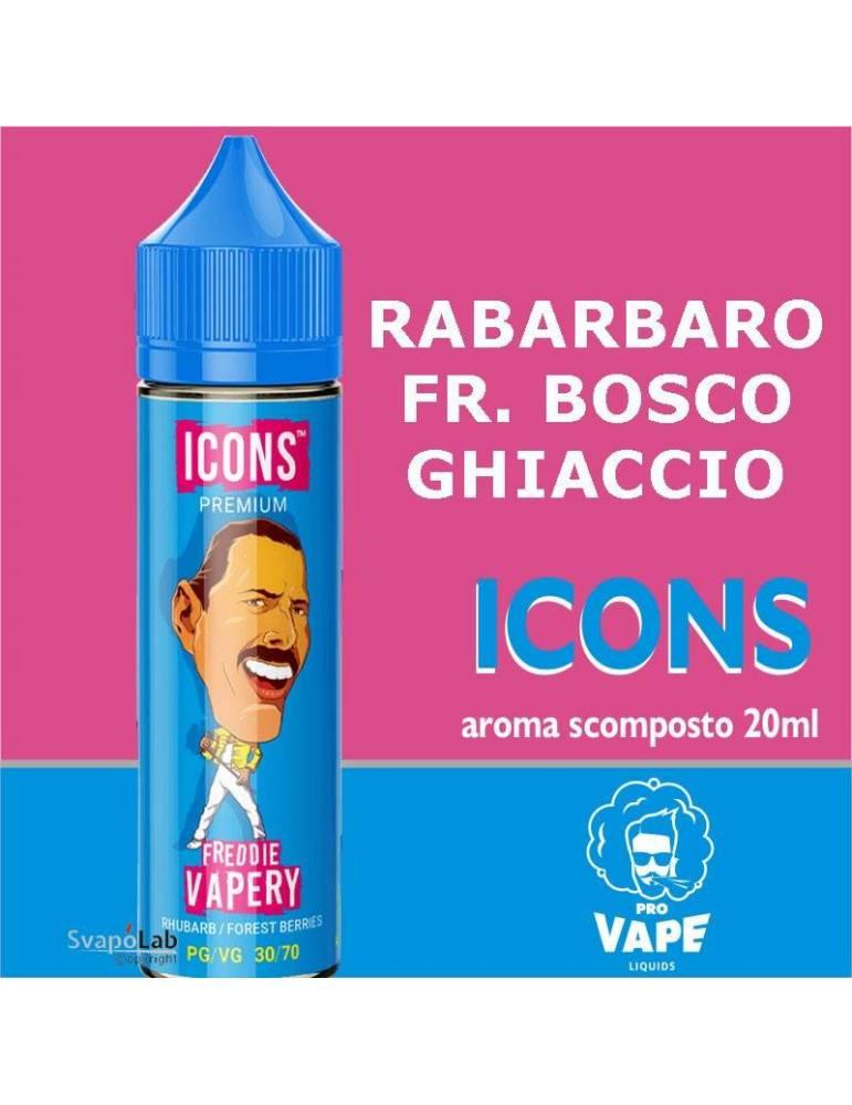 Pro Vape Icons FREDDIE VAPERY 20 ml aroma scomposto
