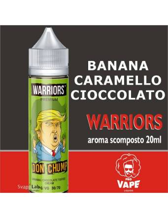 Pro Vape Warriors DON CHUMP 20 ml aroma scomposto + OMAGGIO 1 VG 30ml