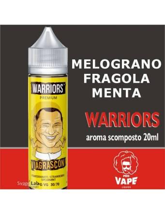 Pro Vape Warriors VIAGRASCONI 20 ml aroma scomposto + OMAGGIO 1 VG 30ml