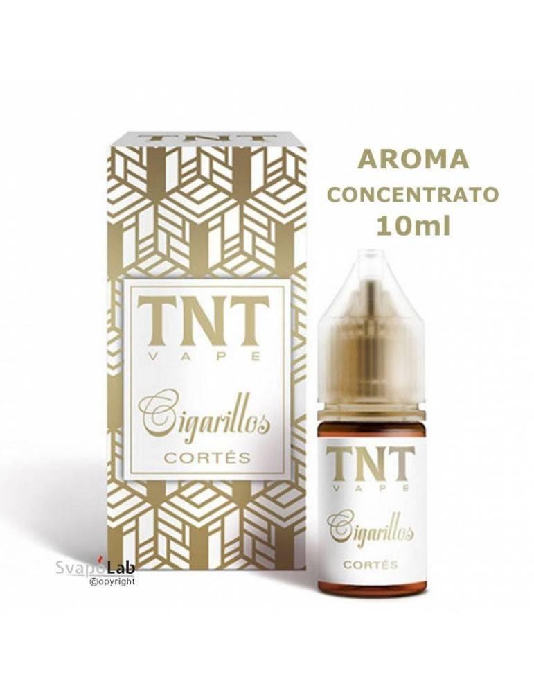 TNT Vape Cigarillos CORTEZ 10ml aroma concentrato