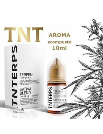 TNTERPS Sativa Blend 10ml aroma scomposto (mini shot)