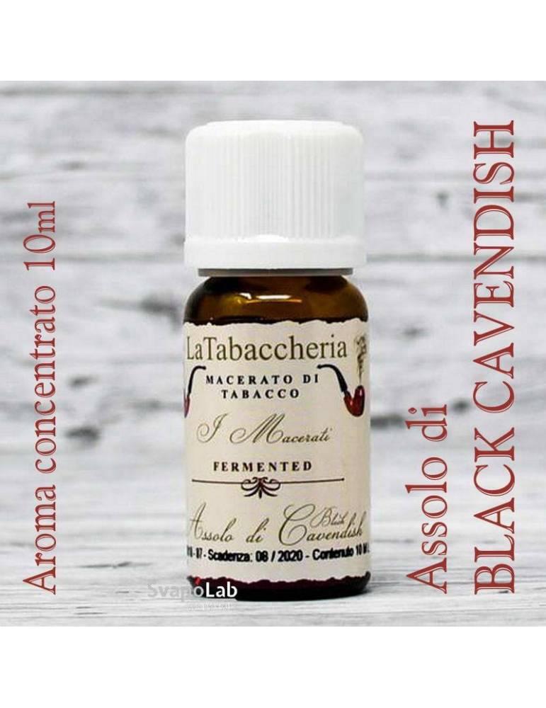 La Tabaccheria - Assolo di BLACK CAVENDISH 10 ml aroma concentrato