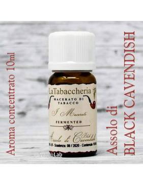 La Tabaccheria – Macerati - Assolo di BLACK CAVENDISH 10 ml aroma concentrato