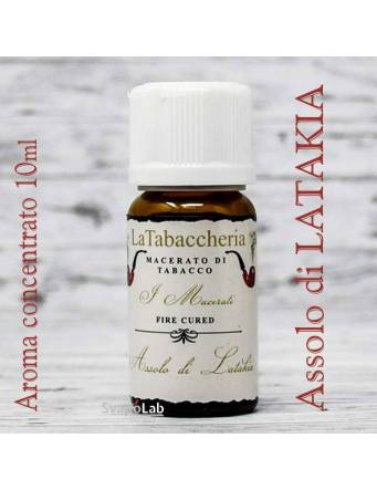 La Tabaccheria – Macerati - Assolo di LATAKIA 10 ml aroma concentrato