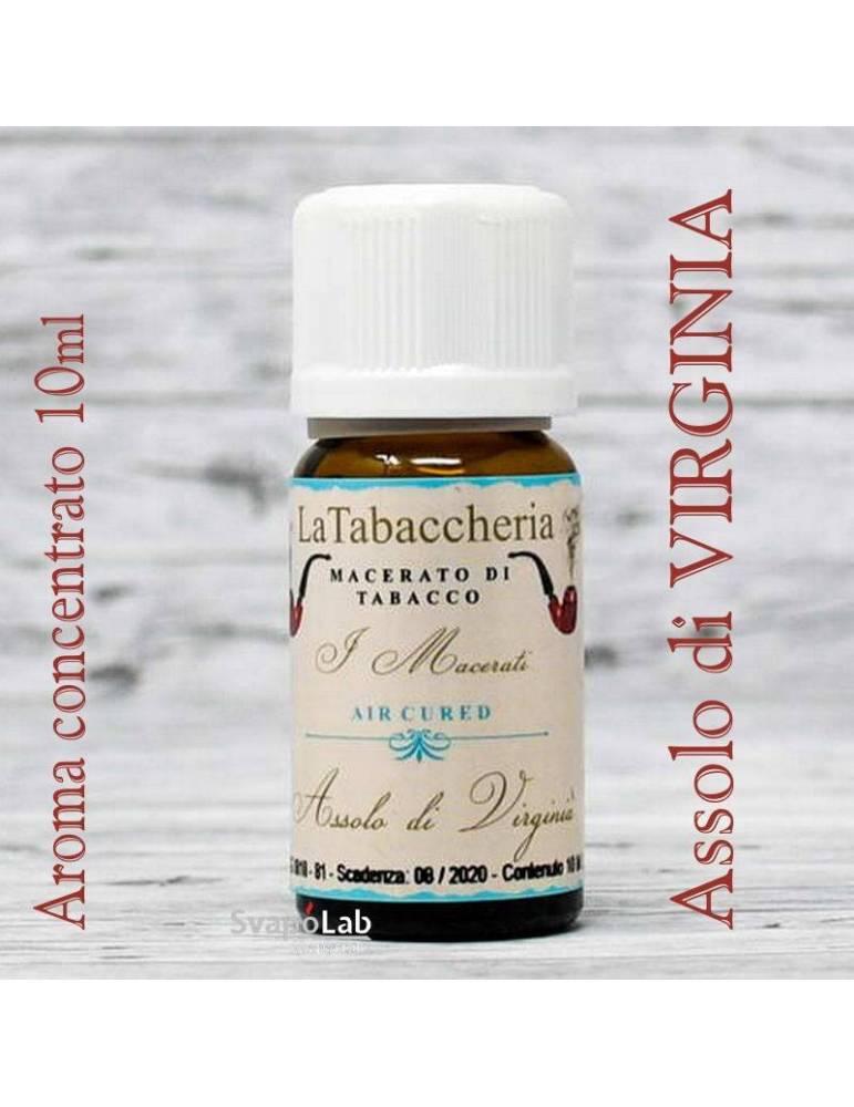 La Tabaccheria – Macerati - Assolo di VIRGINIA 10 ml aroma concentrato