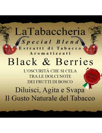 "La Tabaccheria ""BLACK e BERRIES"" 10 ml aroma concentrato"