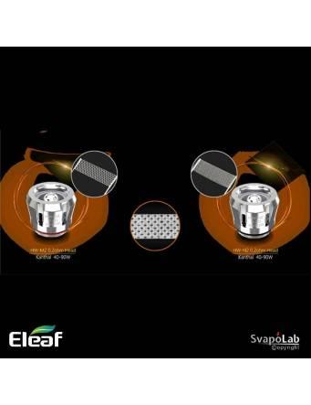 Eleaf ELLO POP atomizer 6,5 ml (ø28mm), le resistenze