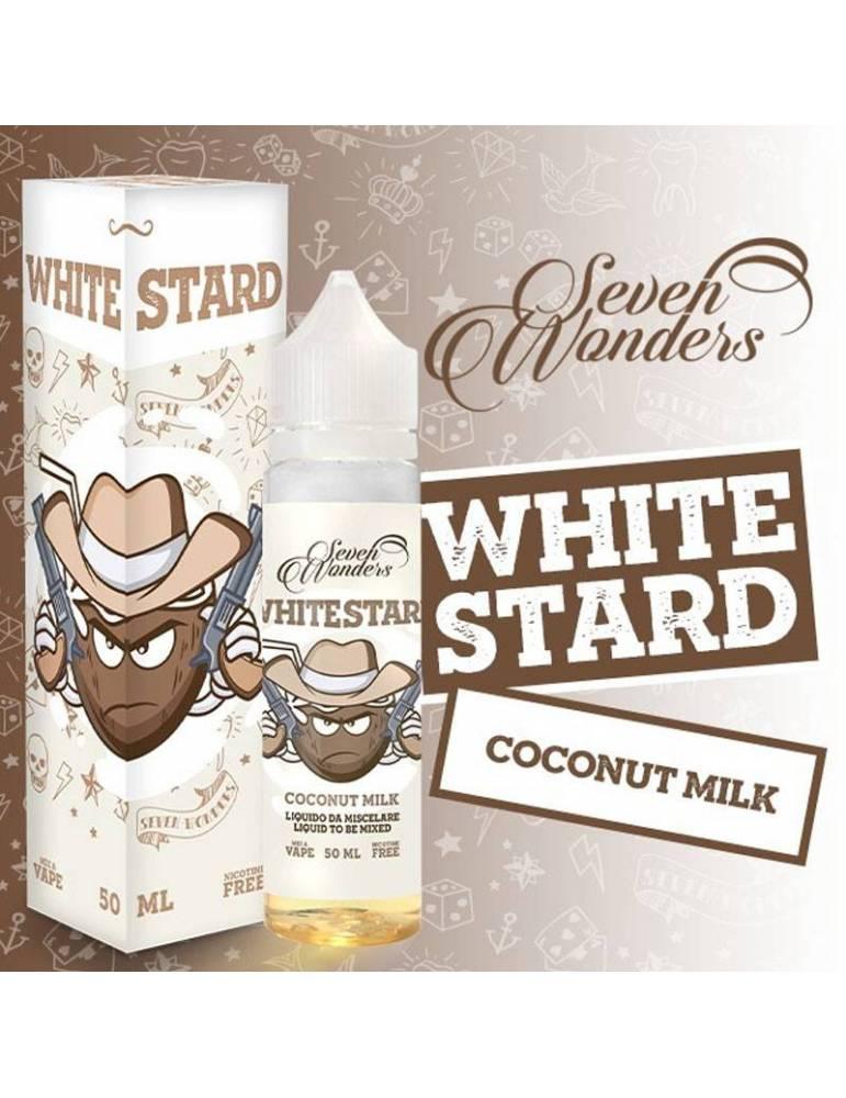 Seven Wonders WHITESTARD Mix&Vape 50ml e-liquid da miscelare