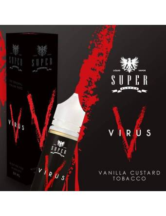 Super Flavor VIRUS Mix&Vape 50ml e-liquid da miscelare