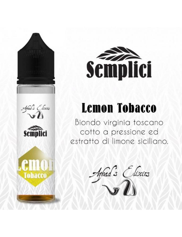 Azhad's Semplici LEMON TOBACCO 20 ml aroma scomposto