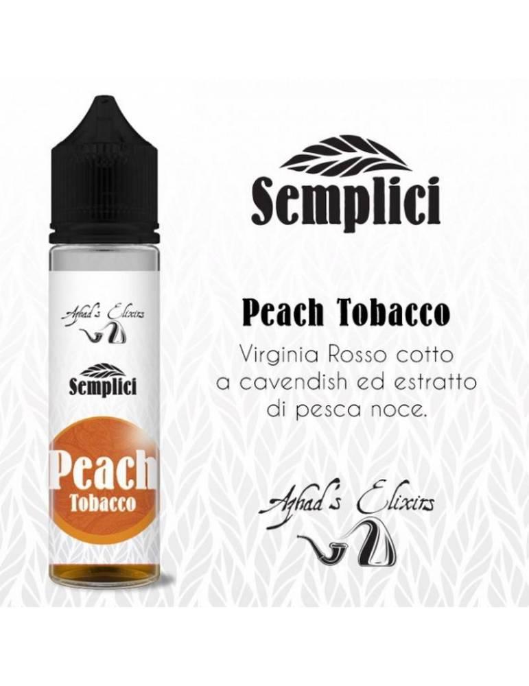 Azhad's Semplici PEACH TOBACCO 20 ml aroma scomposto by Azhad's Elixirs
