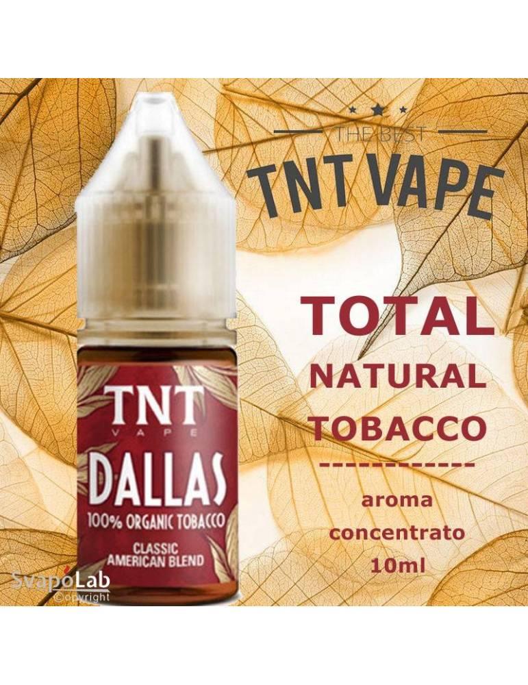 TNT Vape TNT DALLAS 10ml aroma concentrato