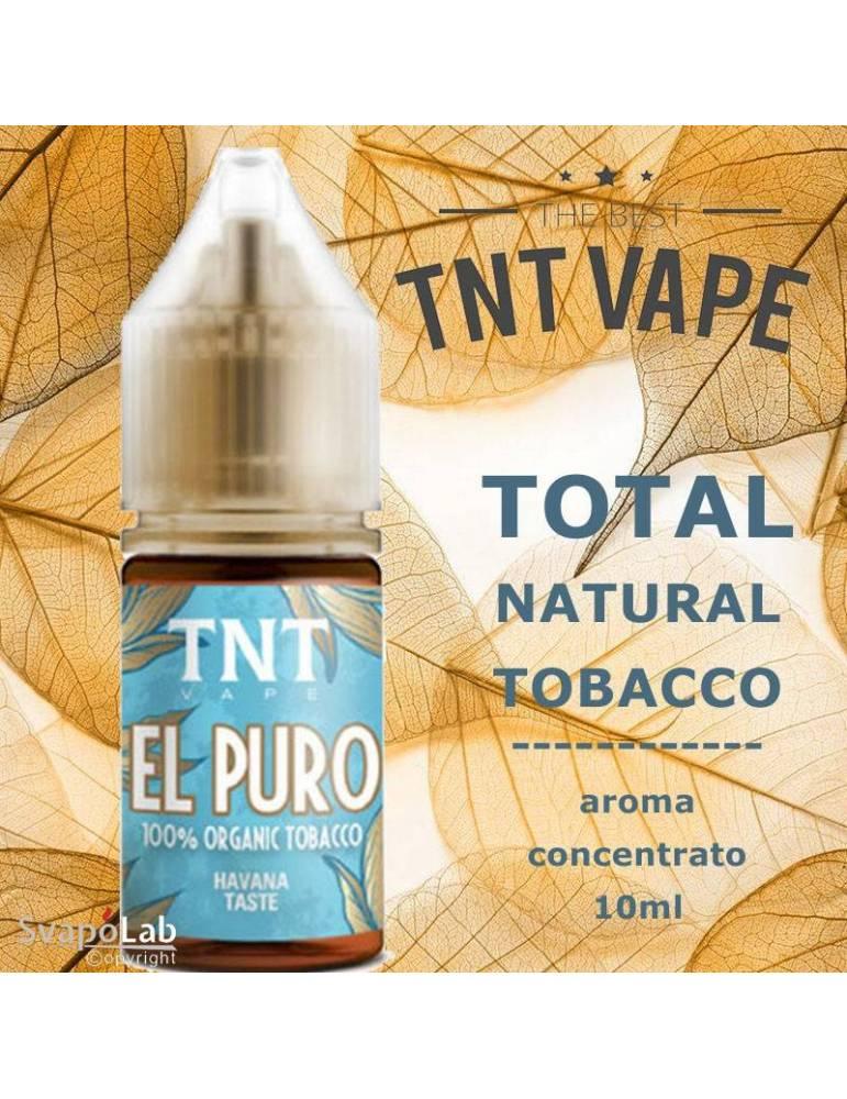 TNT Vape TNT EL PURO 10ml aroma concentrato